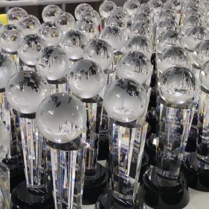 Customised Crystal Awards